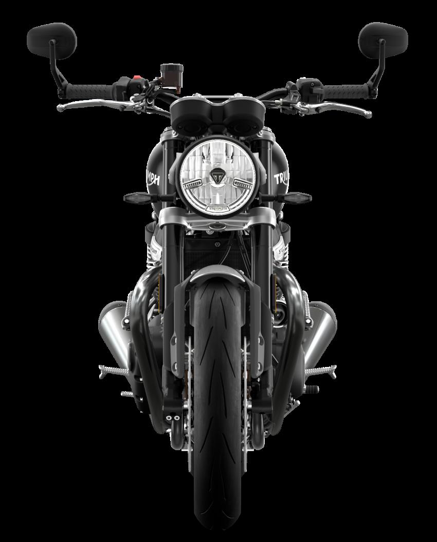 Triumph Speed Twin 2021 diperbaharui – enjin Euro 5, lebih kuasa dan tork, angkup brek Brembo Monobloc Image #1301582
