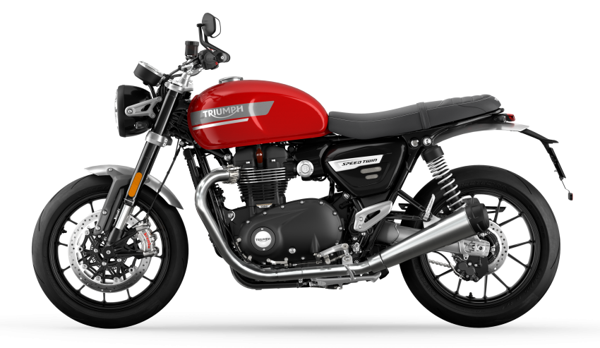 2021 Triumph Speed Twin updated, more power and torque, Euro 5 compliant, Brembo M50 Monobloc Image #1301390