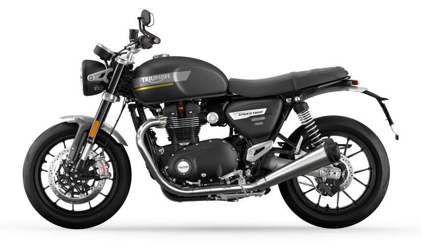 2021 Triumph Speed Twin updated, more power and torque, Euro 5 compliant, Brembo M50 Monobloc Image #1301391