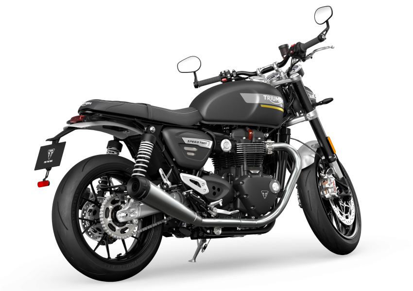 2021 Triumph Speed Twin updated, more power and torque, Euro 5 compliant, Brembo M50 Monobloc Image #1301379