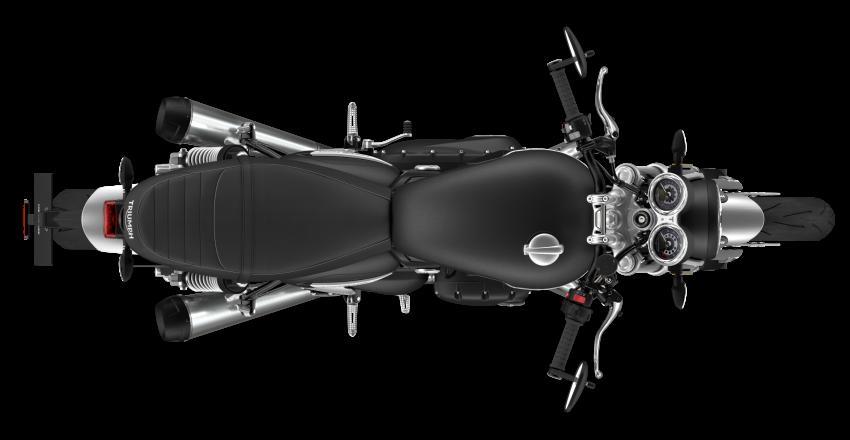 Triumph Speed Twin 2021 diperbaharui – enjin Euro 5, lebih kuasa dan tork, angkup brek Brembo Monobloc Image #1301574