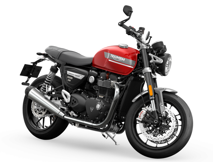 2021 Triumph Speed Twin updated, more power and torque, Euro 5 compliant, Brembo M50 Monobloc Image #1301381