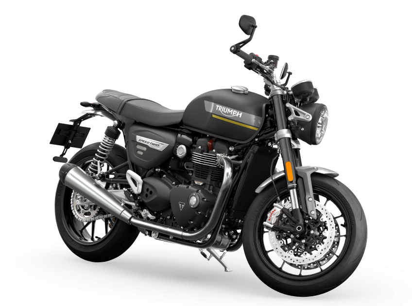 2021 Triumph Speed Twin updated, more power and torque, Euro 5 compliant, Brembo M50 Monobloc Image #1301382