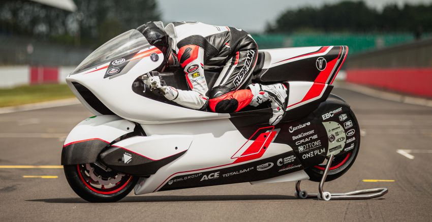 White Motorcycles aims for e-bike land speed record Image #1311404