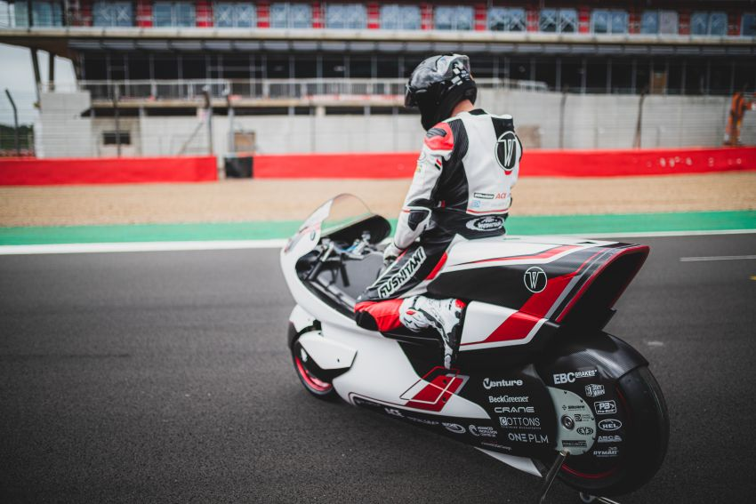 White Motorcycles aims for e-bike land speed record Image #1311408