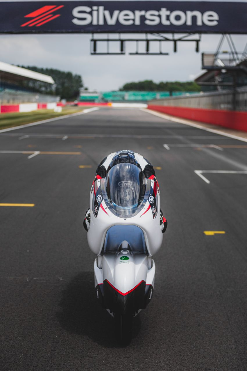 White Motorcycles aims for e-bike land speed record Image #1311410