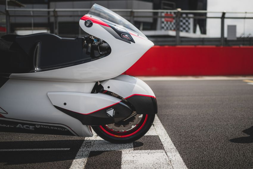 White Motorcycles aims for e-bike land speed record Image #1311411