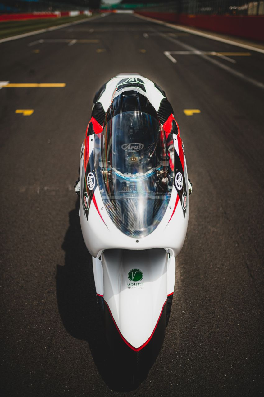 White Motorcycles aims for e-bike land speed record Image #1311413