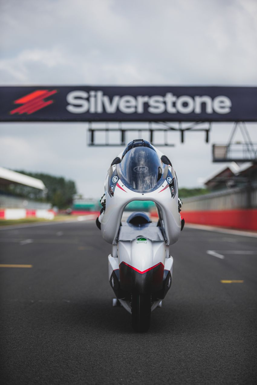 White Motorcycles aims for e-bike land speed record Image #1311414