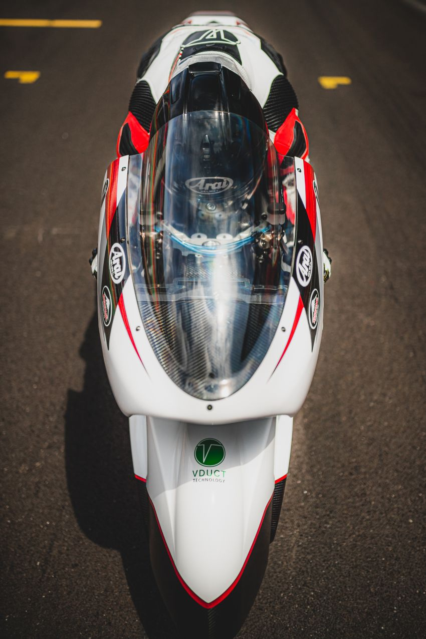 White Motorcycles aims for e-bike land speed record Image #1311396