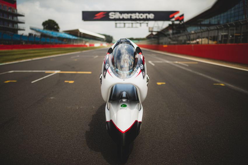 White Motorcycles aims for e-bike land speed record Image #1311397
