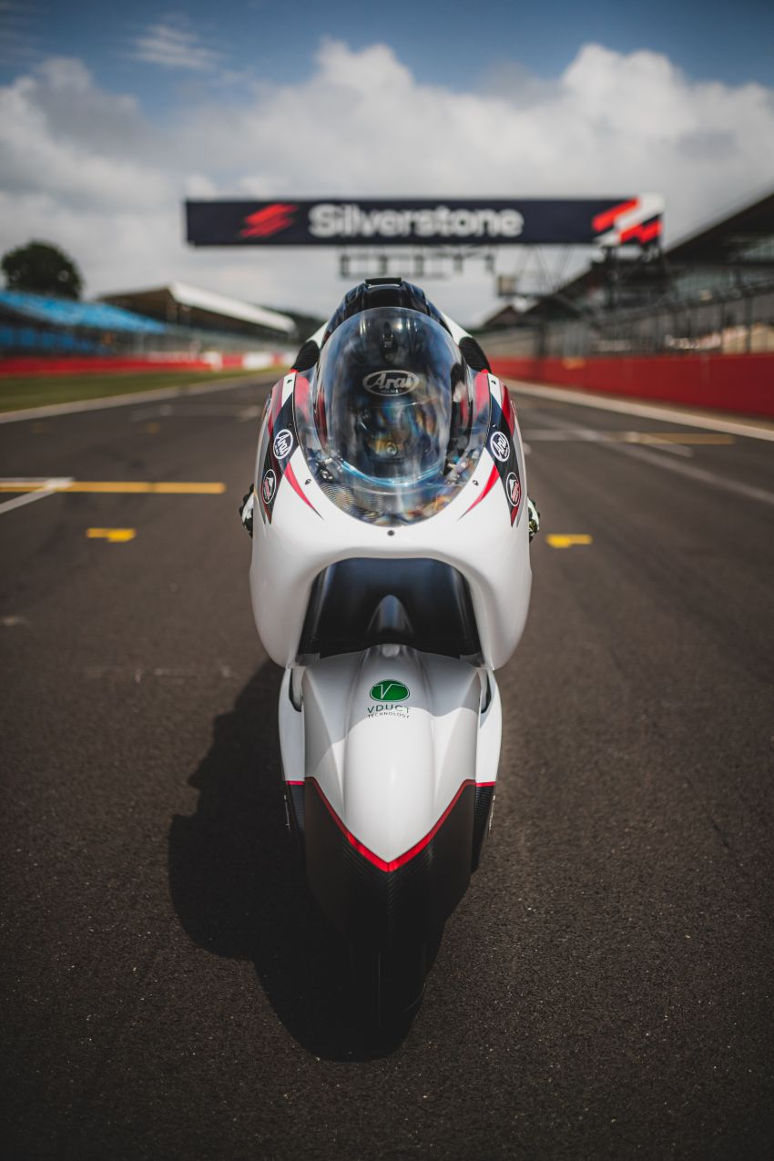 White Motorcycles aims for e-bike land speed record Image #1311398