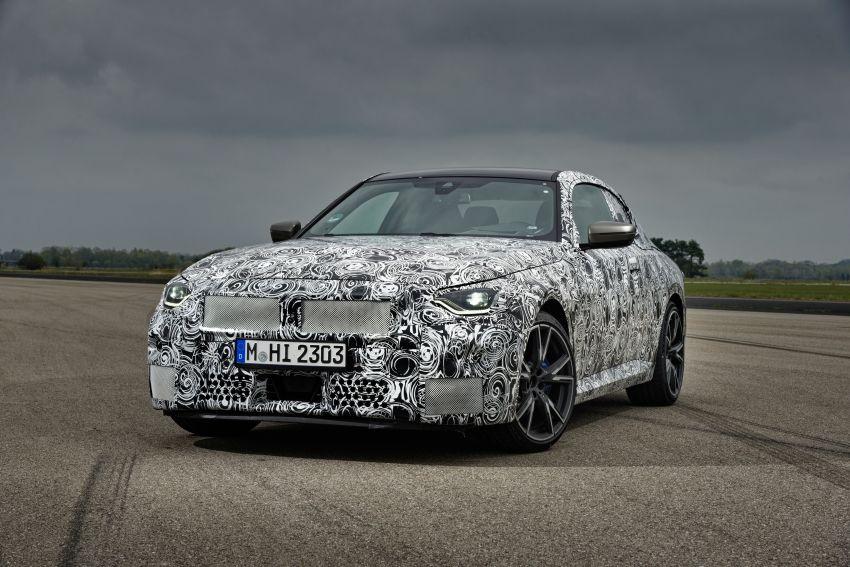 BMW 2 Series Coupe 2022 akan buat penampilan pertama 8 Julai ini di Goodwood Festival of Speed Image #1312630