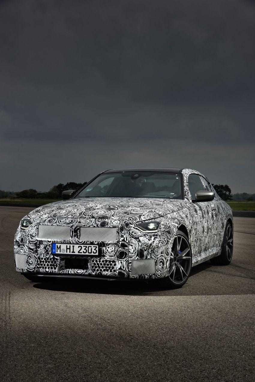 BMW 2 Series Coupe 2022 akan buat penampilan pertama 8 Julai ini di Goodwood Festival of Speed Image #1312629