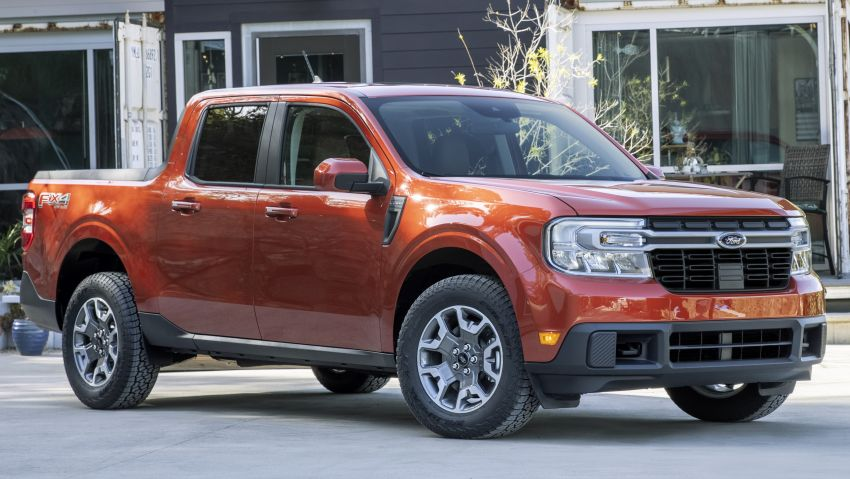2022 Ford Maverick revealed – unibody pick-up for US with 2.5L hybrid, 2.0L turbo, 5.9 l/100 km, from RM82k Image #1304368