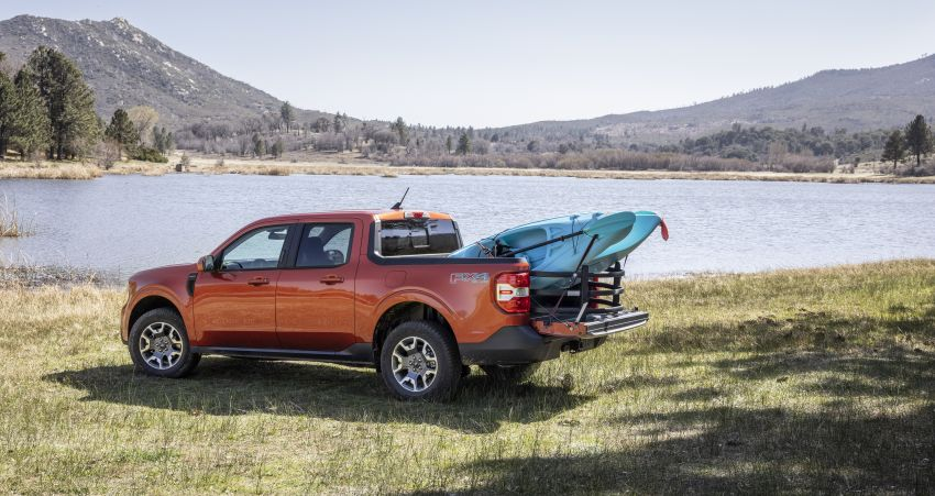2022 Ford Maverick revealed – unibody pick-up for US with 2.5L hybrid, 2.0L turbo, 5.9 l/100 km, from RM82k Image #1304377
