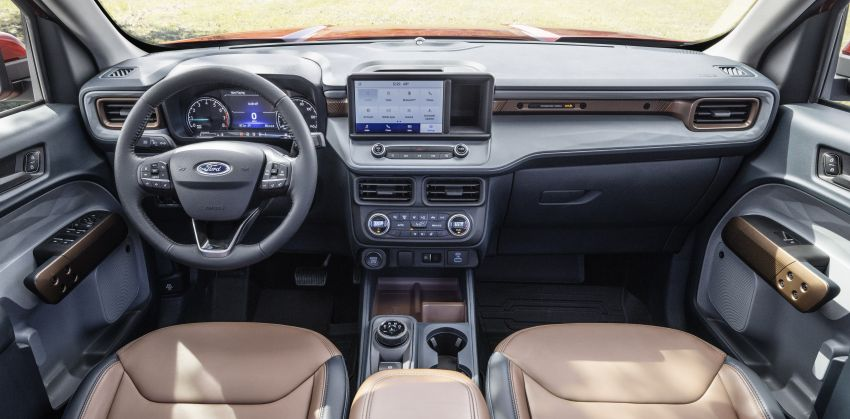 2022 Ford Maverick revealed – unibody pick-up for US with 2.5L hybrid, 2.0L turbo, 5.9 l/100 km, from RM82k Image #1304380