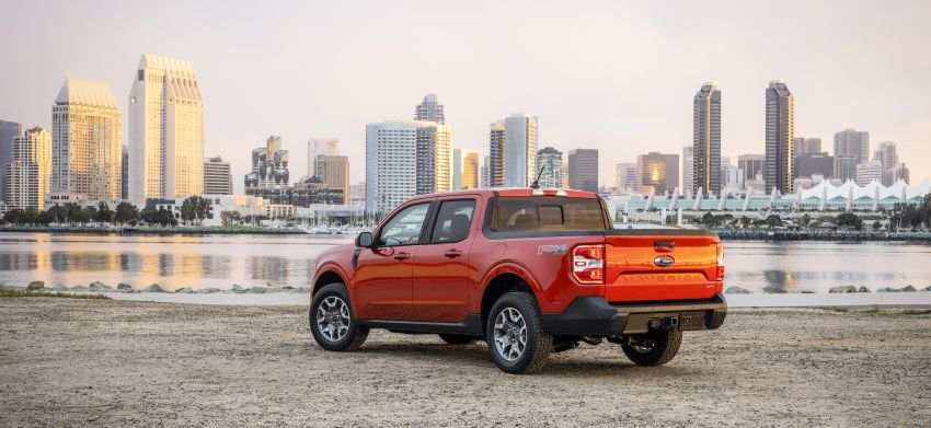 2022 Ford Maverick revealed – unibody pick-up for US with 2.5L hybrid, 2.0L turbo, 5.9 l/100 km, from RM82k Image #1304369