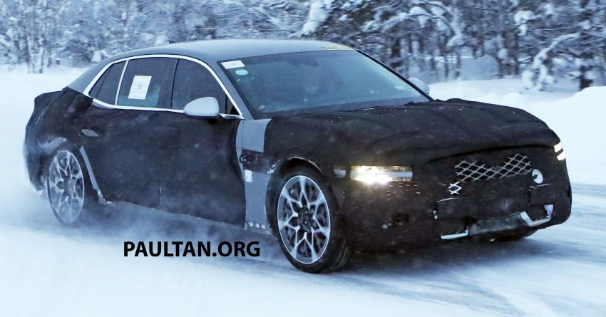 Hyundai to axe its Tau NA V8 – next-gen Genesis G90 could get turbo and all-electric powertrains instead Image #1306834