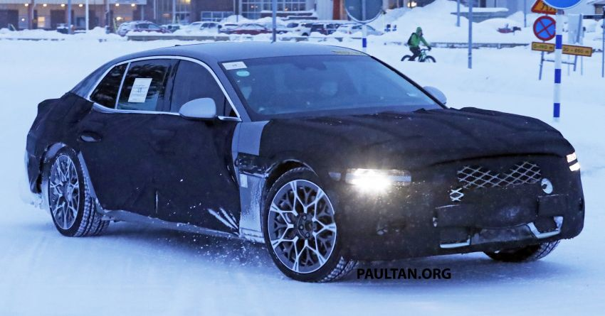 Hyundai to axe its Tau NA V8 – next-gen Genesis G90 could get turbo and all-electric powertrains instead Image #1306843