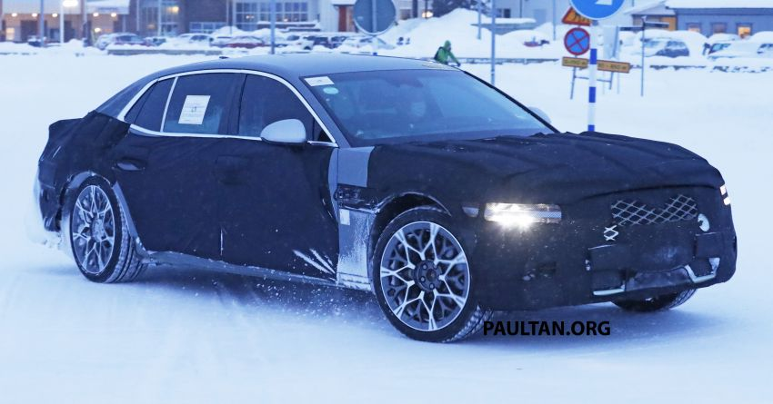 Hyundai to axe its Tau NA V8 – next-gen Genesis G90 could get turbo and all-electric powertrains instead Image #1306844