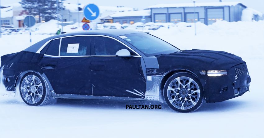Hyundai to axe its Tau NA V8 – next-gen Genesis G90 could get turbo and all-electric powertrains instead Image #1306846