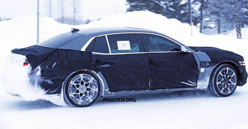 Hyundai to axe its Tau NA V8 – next-gen Genesis G90 could get turbo and all-electric powertrains instead Image #1306847