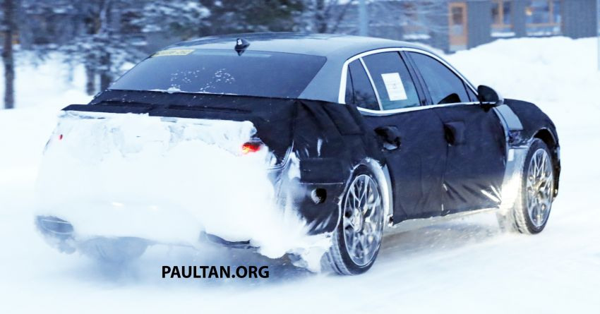 Hyundai to axe its Tau NA V8 – next-gen Genesis G90 could get turbo and all-electric powertrains instead Image #1306850