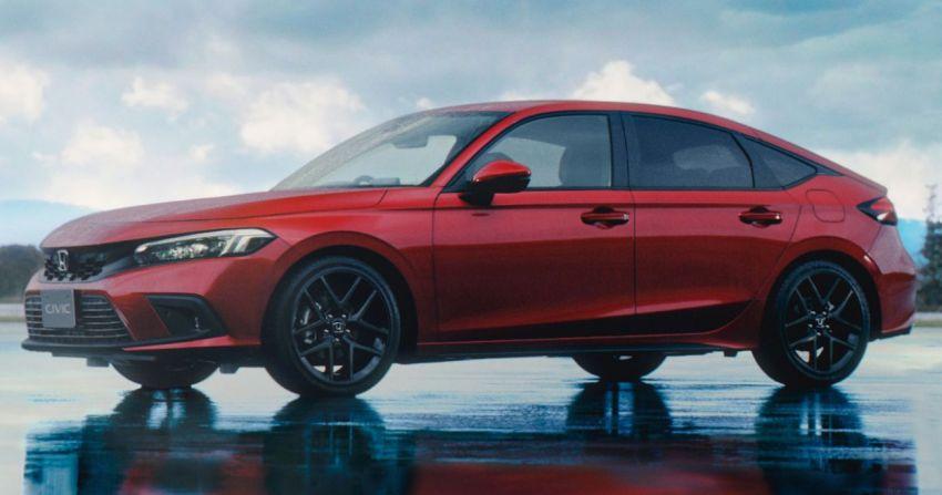 Honda Civic Hatchback 2022 didedahkan – pilihan kotak gear manual 6-kelajuan, suspensi lebih sporty Image #1311356