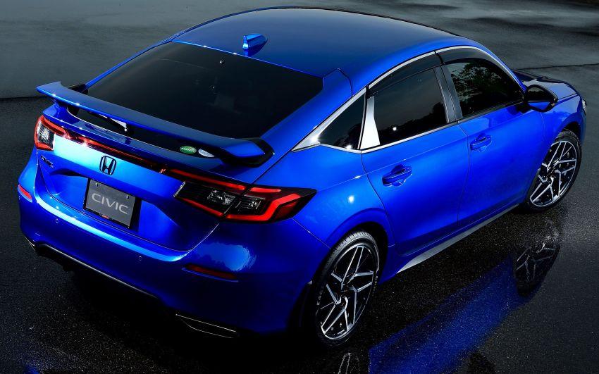 Honda Civic Hatchback 2022 didedahkan – pilihan kotak gear manual 6-kelajuan, suspensi lebih sporty Image #1311351