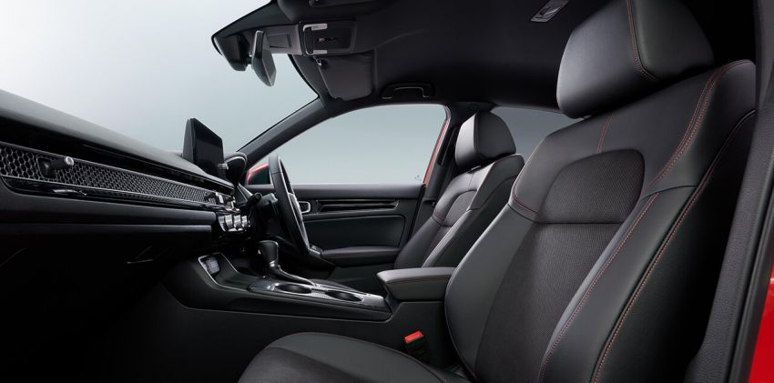 2022 Honda Civic Hatchback revealed with six-speed manual option; e:HEV hybrid and Type R coming 2022 Image #1311375