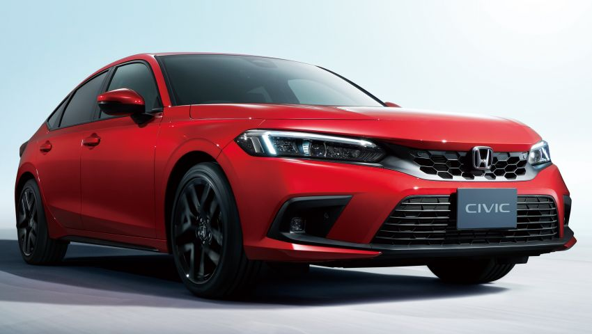 2022 Honda Civic Hatchback revealed with six-speed manual option; e:HEV hybrid and Type R coming 2022 Image #1311190