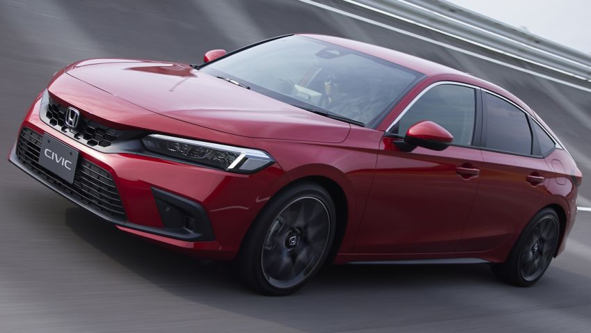 2022 Honda Civic Hatchback revealed with six-speed manual option; e:HEV hybrid and Type R coming 2022 Image #1311195