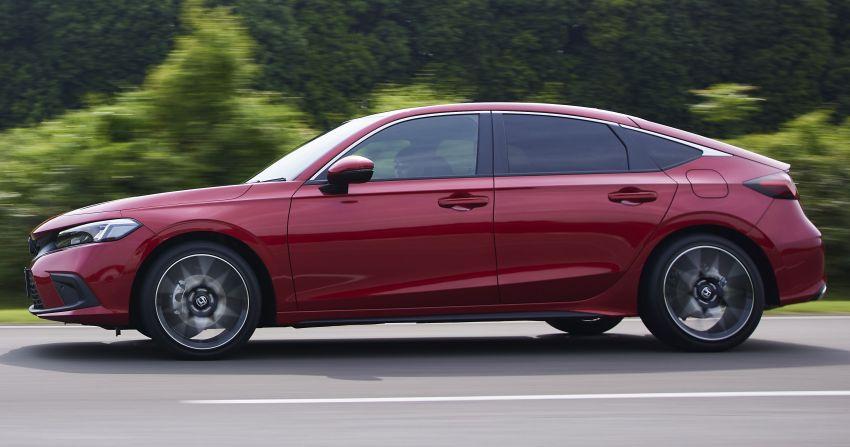 Honda Civic Hatchback 2022 didedahkan – pilihan kotak gear manual 6-kelajuan, suspensi lebih sporty Image #1311354