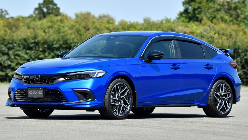 2022 Honda Civic Hatchback revealed with six-speed manual option; e:HEV hybrid and Type R coming 2022 Image #1311197