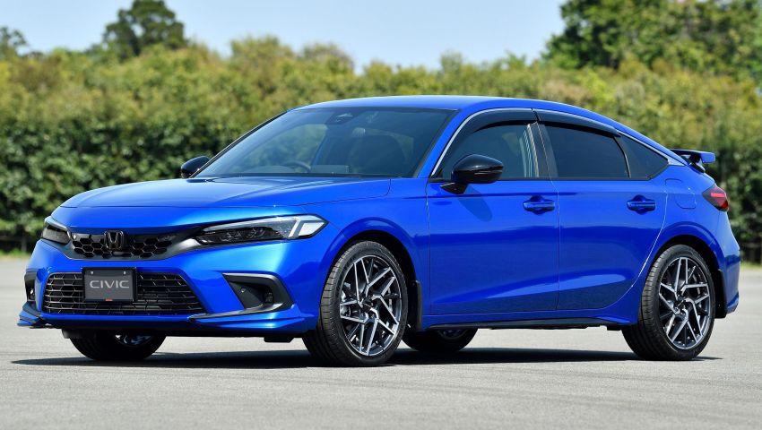 Honda Civic Hatchback 2022 didedahkan – pilihan kotak gear manual 6-kelajuan, suspensi lebih sporty Image #1311353