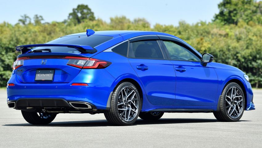 Honda Civic Hatchback 2022 didedahkan – pilihan kotak gear manual 6-kelajuan, suspensi lebih sporty Image #1311352