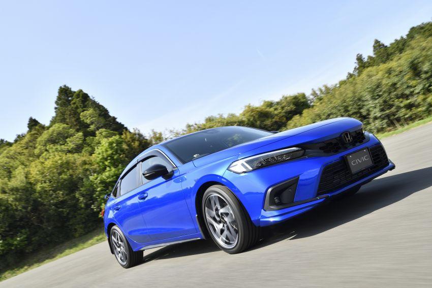 Honda Civic Hatchback 2022 dengan kit aksesori Modulo didedahkan di Jepun – rupa lebih garang Image #1311782