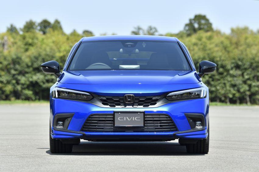 Honda Civic Hatchback 2022 dengan kit aksesori Modulo didedahkan di Jepun – rupa lebih garang Image #1311780
