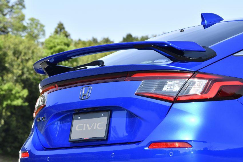Honda Civic Hatchback 2022 dengan kit aksesori Modulo didedahkan di Jepun – rupa lebih garang Image #1311778