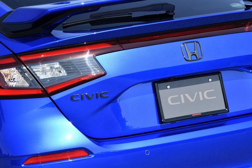 Honda Civic Hatchback 2022 dengan kit aksesori Modulo didedahkan di Jepun – rupa lebih garang Image #1311772