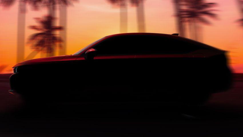 2022 Honda Civic Hatchback teased, debuts June 24 Image #1305297