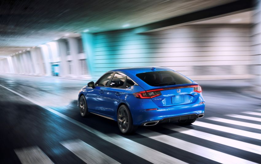 2022 Honda Civic Hatchback revealed with six-speed manual option; e:HEV hybrid and Type R coming 2022 Image #1311200