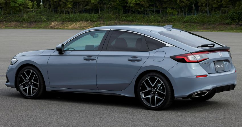 2022 Honda Civic Hatchback revealed with six-speed manual option; e:HEV hybrid and Type R coming 2022 Image #1311207