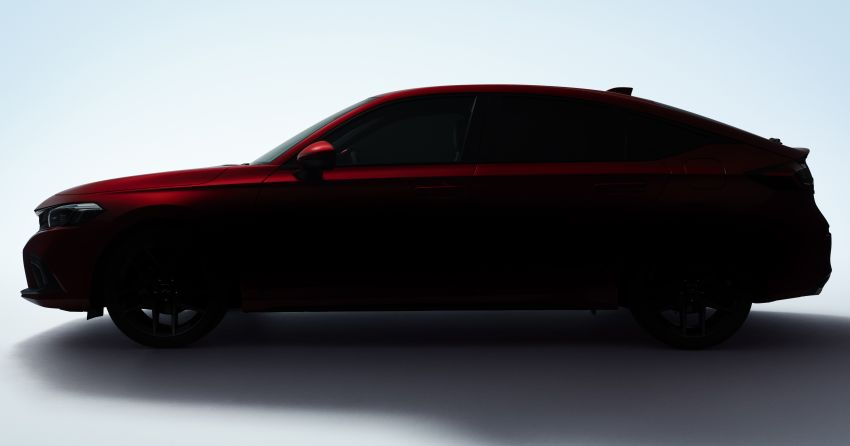 2022 Honda Civic Hatchback teased, debuts June 24 Image #1305499