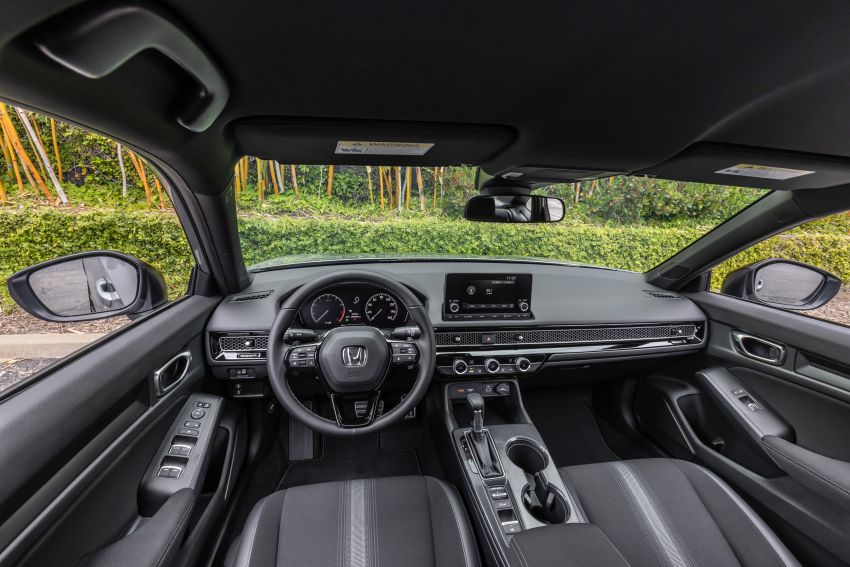 Honda Civic 2022 mula dijual di AS – bermula RM94k, 2.0L NA & 1.5L Turbo, standard dengan Honda Sensing Image #1309437