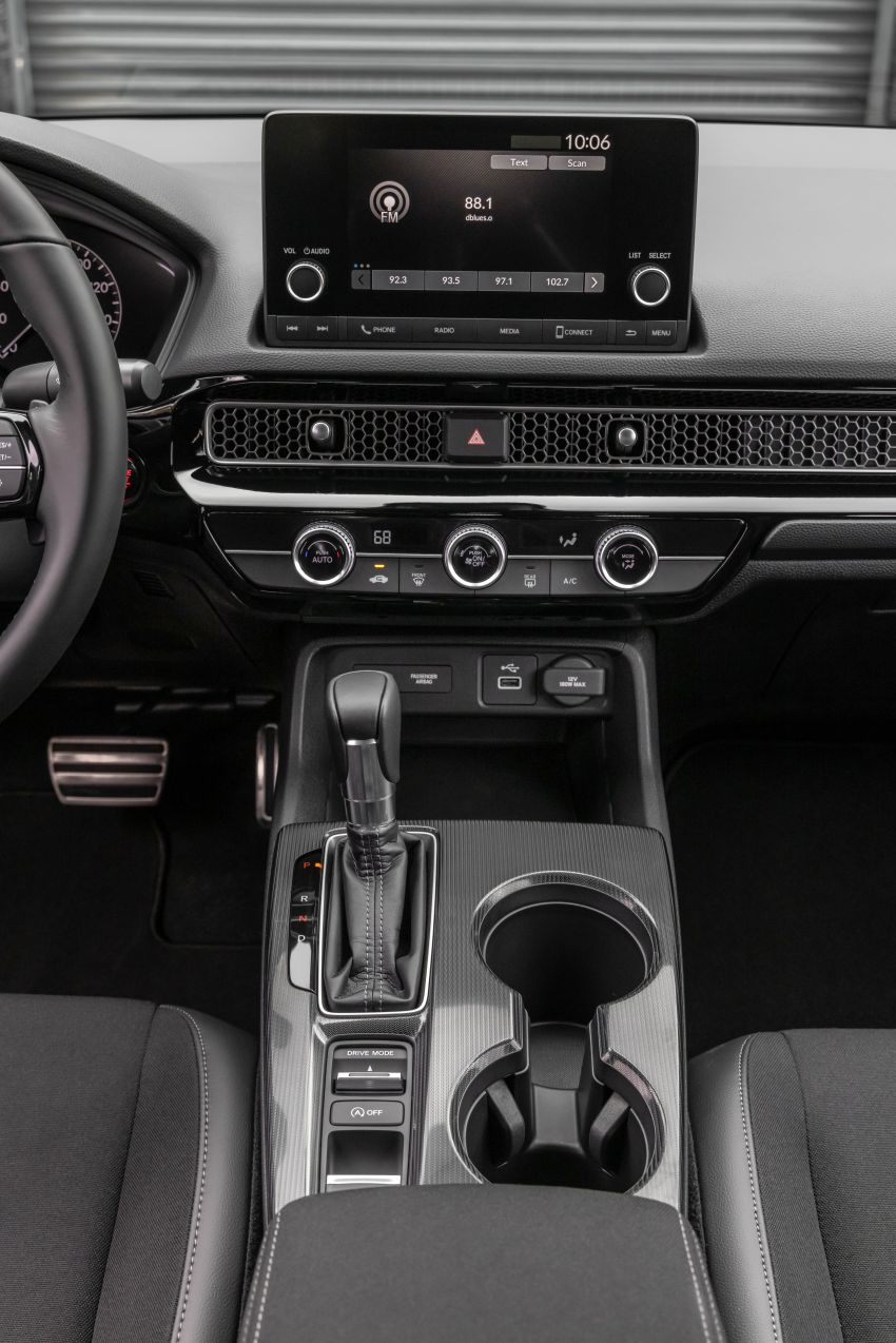 Honda Civic 2022 mula dijual di AS – bermula RM94k, 2.0L NA & 1.5L Turbo, standard dengan Honda Sensing Image #1309434