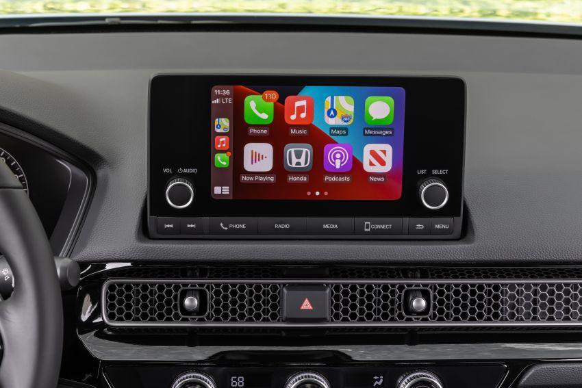 Honda Civic 2022 mula dijual di AS – bermula RM94k, 2.0L NA & 1.5L Turbo, standard dengan Honda Sensing Image #1309433