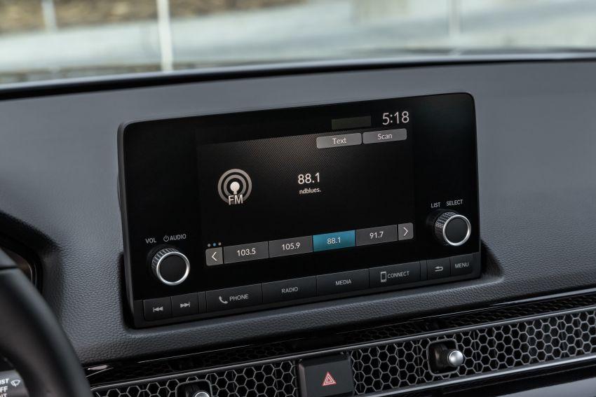 Honda Civic 2022 mula dijual di AS – bermula RM94k, 2.0L NA & 1.5L Turbo, standard dengan Honda Sensing Image #1309432