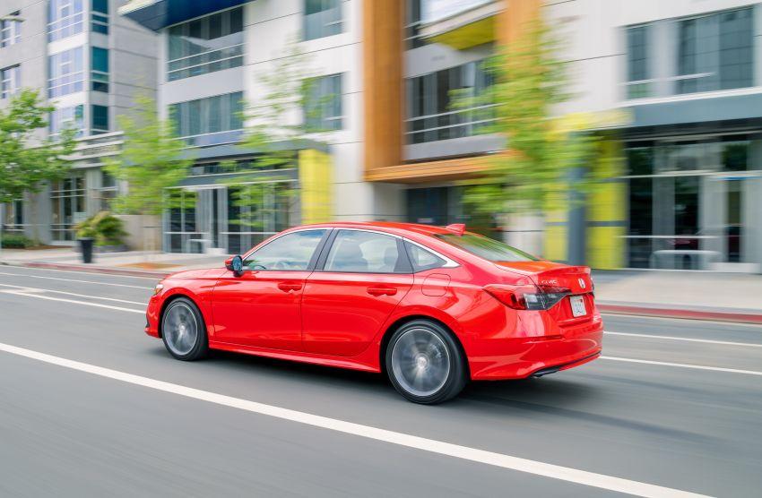 Honda Civic 2022 mula dijual di AS – bermula RM94k, 2.0L NA & 1.5L Turbo, standard dengan Honda Sensing Image #1309422